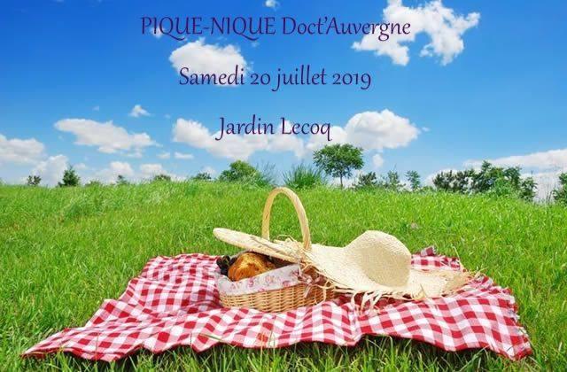 Pique nique le 20 juillet au Jardin Lecoq !
